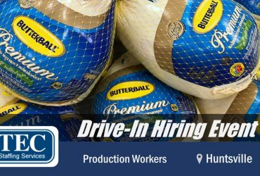 2/2: Drive-In Hiring Event on TUESDAY! (Springdale)