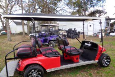 EZ Go GAS Stretch Cart – $5,995 (Whiteville, NC)