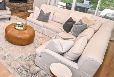 Sectional Sofa (White)