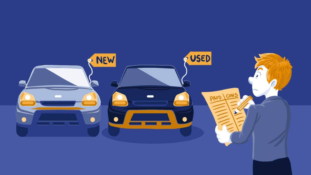 BUYING A NEW CAR VS A USED CAR
