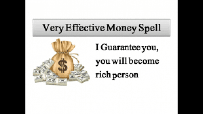 Powerful Money spells to get you out of financial Crisis .