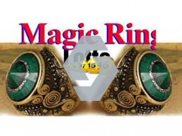 Selling Magic rings for those who want to be successful .