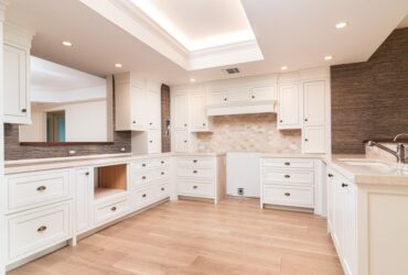 """""""Faircrest Frances"""" — Beautiful White Shaker Style Cabinets with """"Inset"""" Construction"""