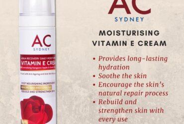 Moisturising Vitamin E Cream Manufacturer – Australian Cosmetics