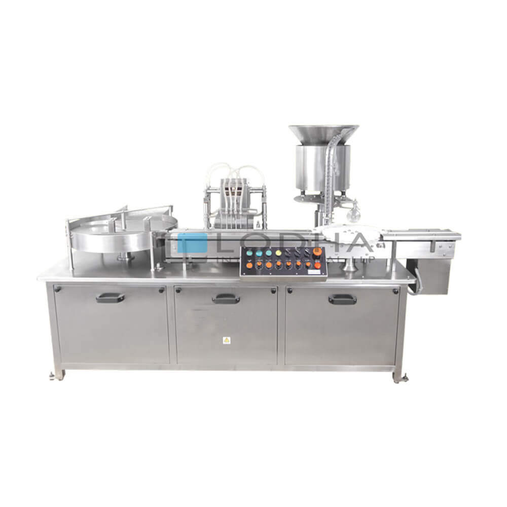 Automatic Bottle Liquid Filling Machine for Pharmaceutical & Cosmetic Industry