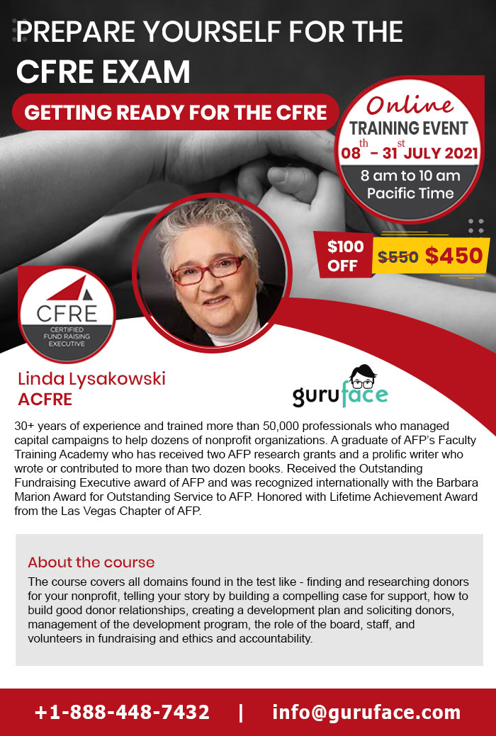 CFRE Exam Preparation Training – Get Ready for your CFRE