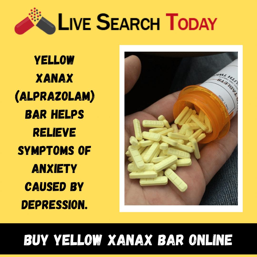 Buy Yellow Xanax bar online