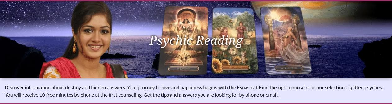 Online Tarot card readings