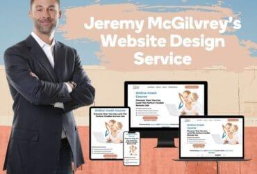 Jeremy McGilvrey's Website Design Development Services