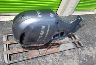 Used Yamaha 200 HP Outboard Motor