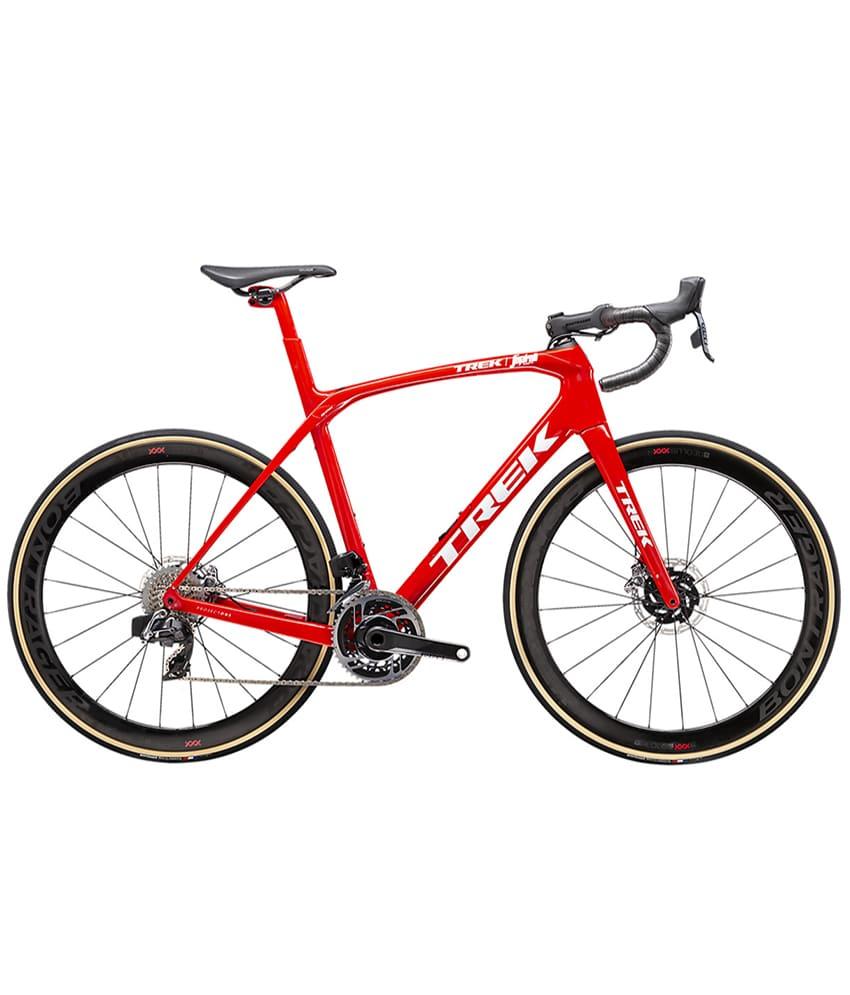 2021 Trek Domane SLR 9 Red eTap Axs Disc Road Bike (Bambobike)