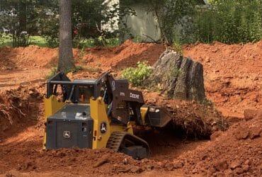 Grading tree removal