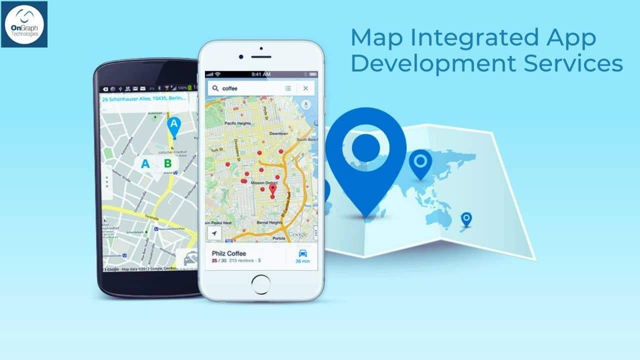 Top Map Integrated App Development Services