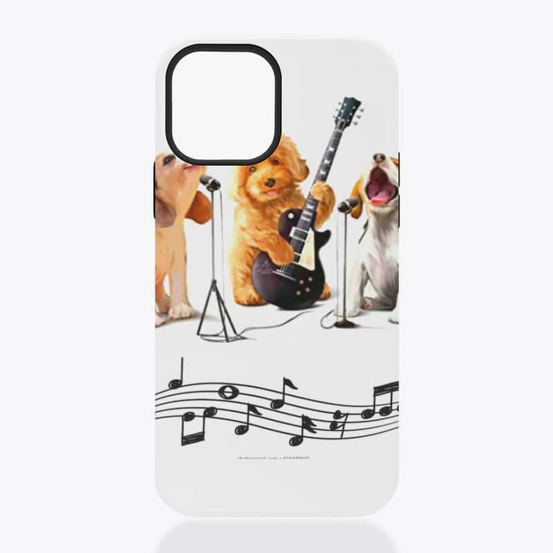 Beautifully designed Puppy phone cases for all